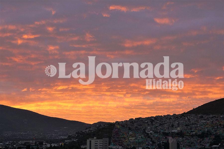 Disminuyen lluvias pero se mantiene frío en Hidalgo Jueves 1 de Octubre 2020