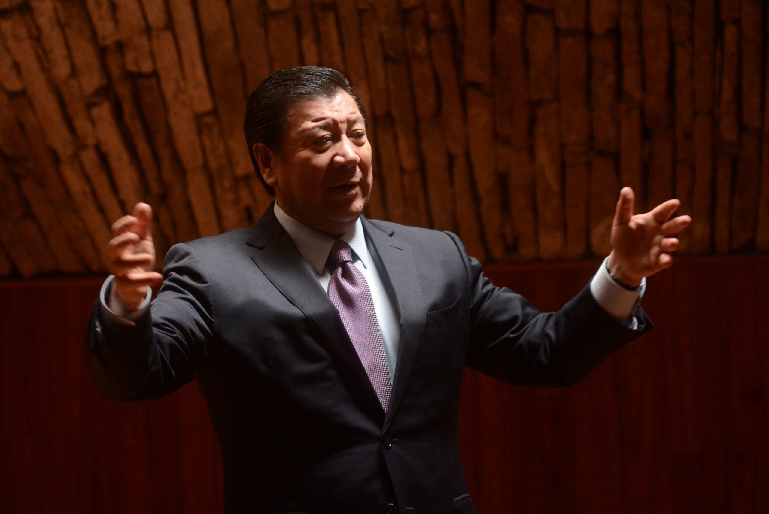 Gerardo Sosa Castelán en Patronato de la UAEH