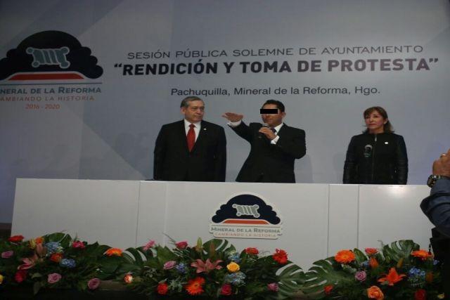 Raúl Camacho detenido