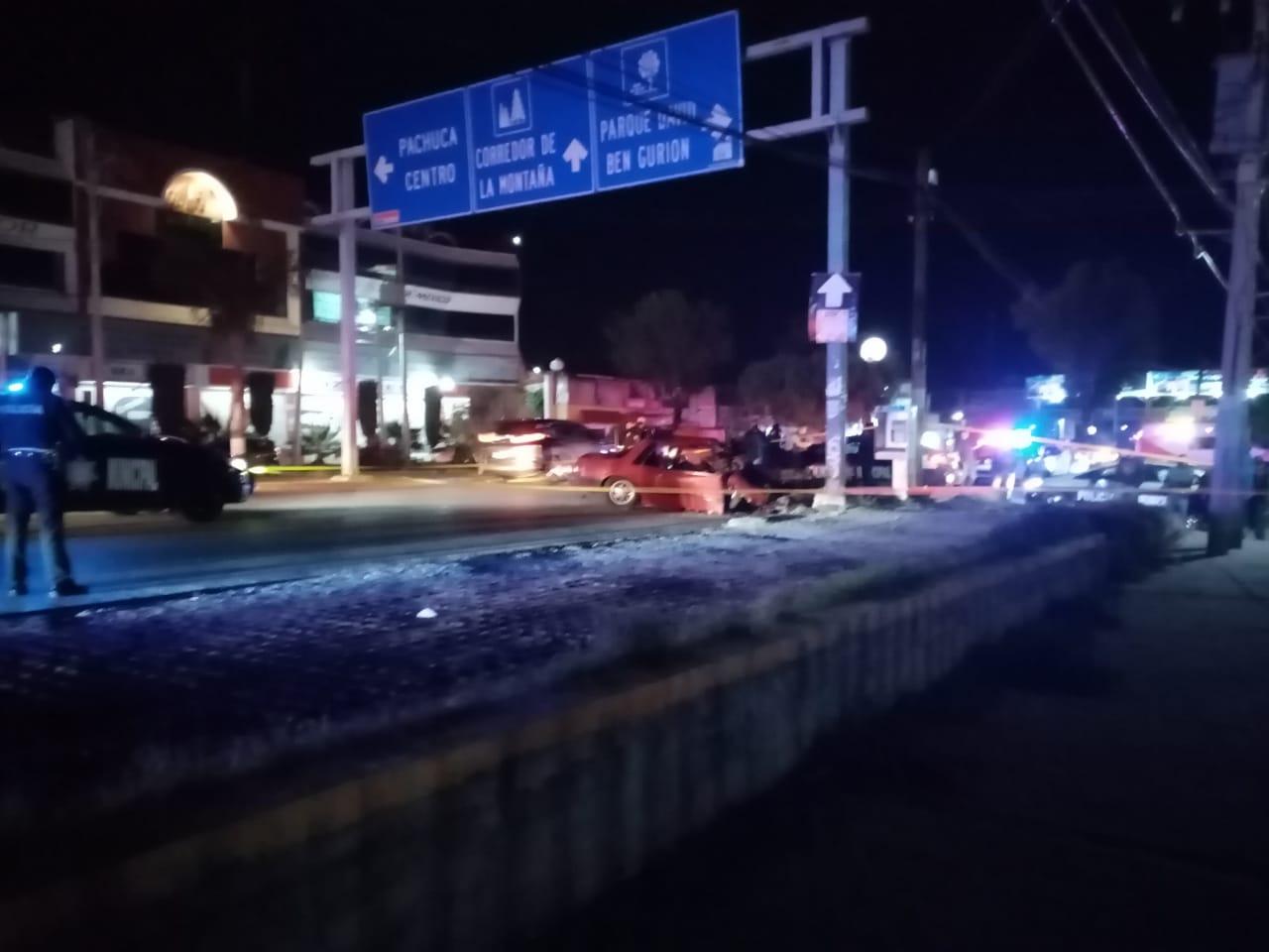 Accidente en Colosio