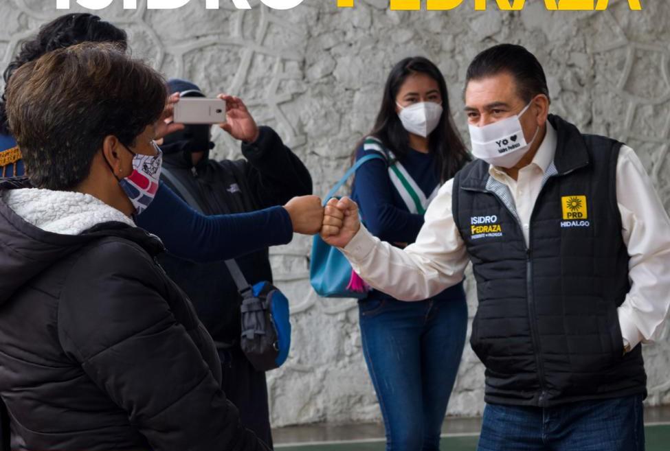 Isidro Pedraza equipo continúa campaña