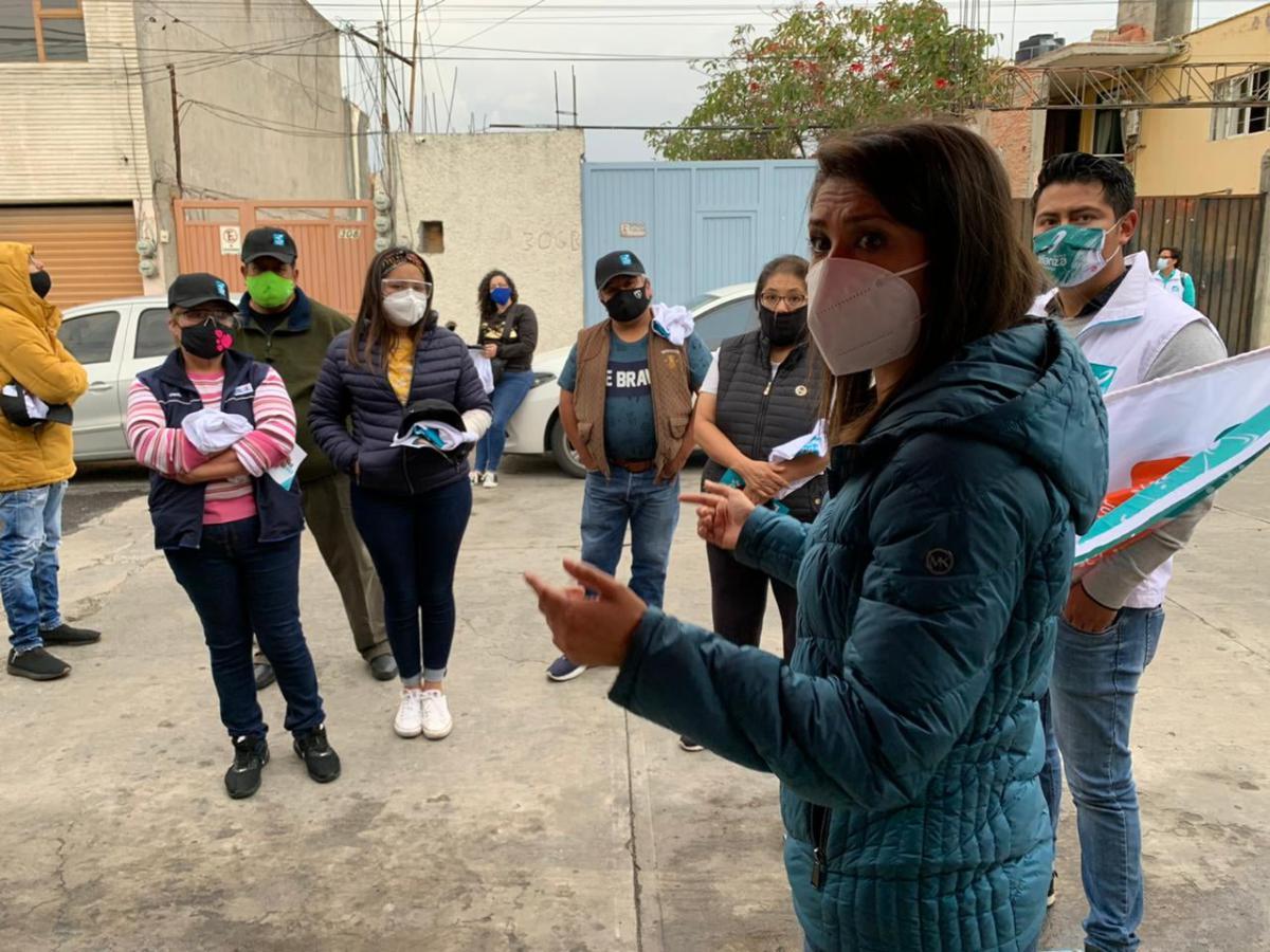 Darina Márquez propone impulsar negocios de mujeres