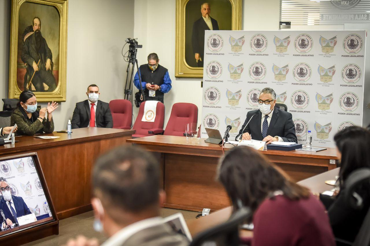 Comparecencia Raúl Arroyo
