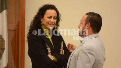 La consejera presidenta, Guillermina Vázquez