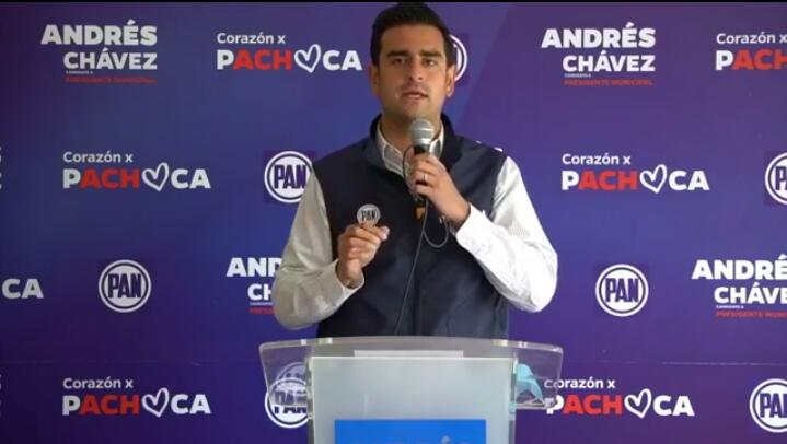 candidato PAN Andrés Pumajero