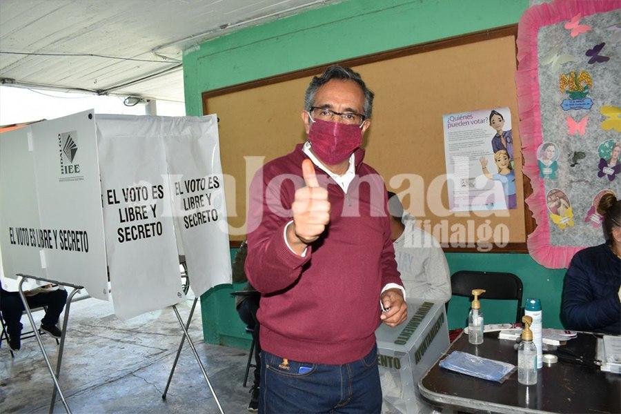 Pablo Vargas resultados elección
