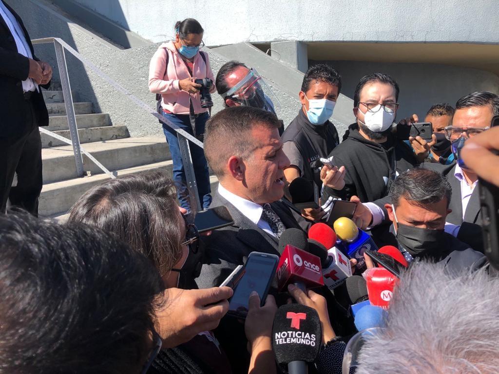 El abogado de Rosario Robles, Sergio Arturo Ramírez