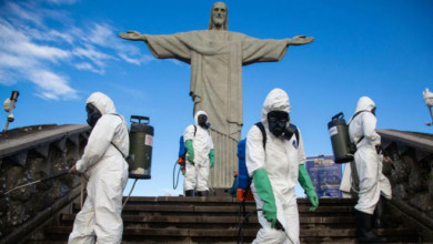 Nueva cepa de coronavirus en Río de Janeiro