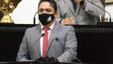 El diputado José Luis Espinosa Silva