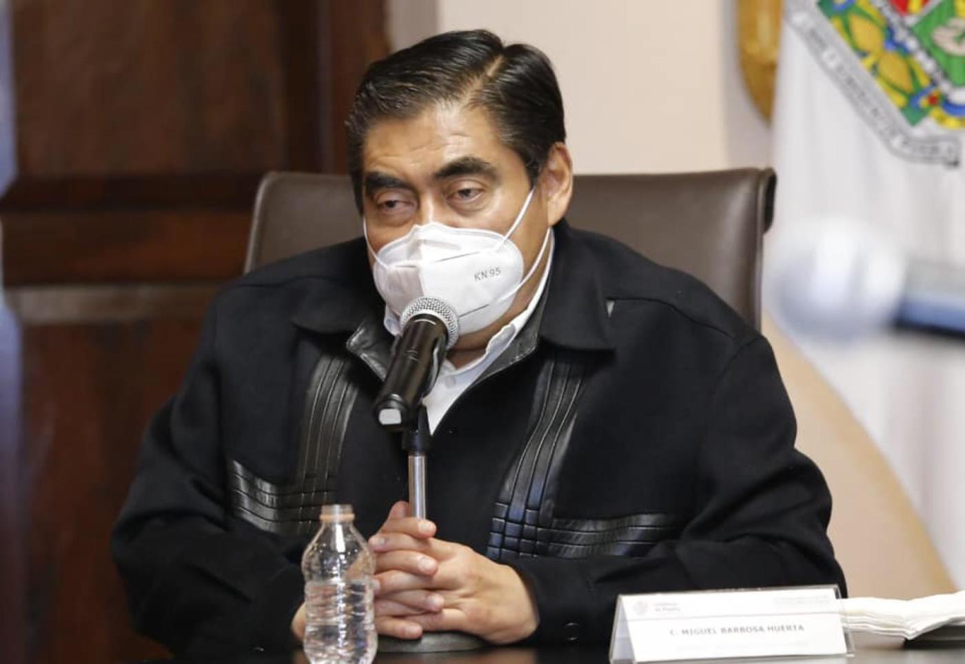 Miguel Barbosa, gobernador de Puebla