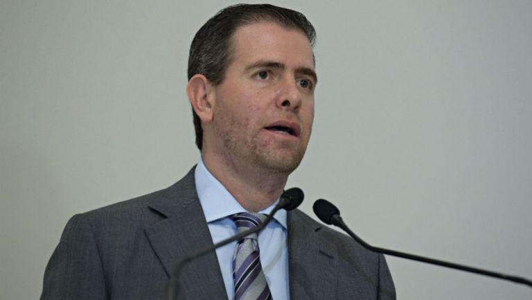 Alfredo Castillo, ex titular de la Conade