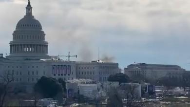Cierran accesos al Capitolio tras incendio en inmediaciones