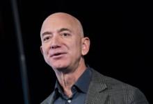 Jeff Bezos, fundador y actual CEO de Amazon que dejará el cargo en el tercer trimestre del año (Andrew Harrer/Bloomberg)