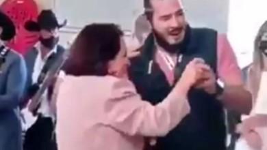 La candidata a la gubernatura de Morena en Querétaro, Celia Maya García