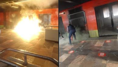 El incendio en Metro Indios Verdes fue controlado por personal del STC