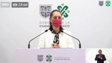 Claudia Sheinbaum informa que CDMX regresa a Semáforo Naranja