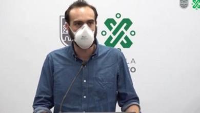 El Secretario de SEMOVI , Andrés Lajous