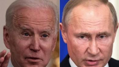 """El presidente estadunidense, Joe Biden, dijo que concuerda con la afirmación de que su par ruso Vladimir Putin es un """"asesino"""". Foto Afp / Archivo"""
